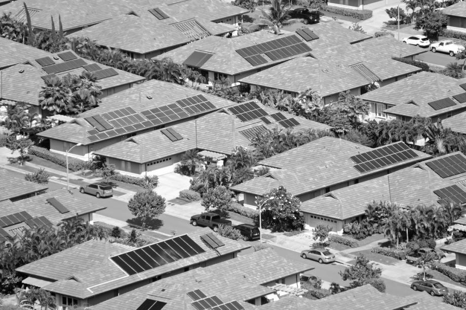 Bâtiment photovoltaïque clé en main